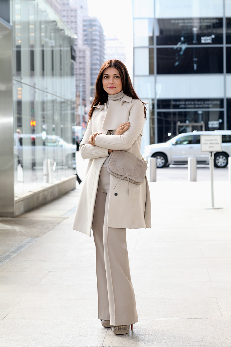 Filipa Fino Vogue Accessories Editor Fashion Prose Purple Hose