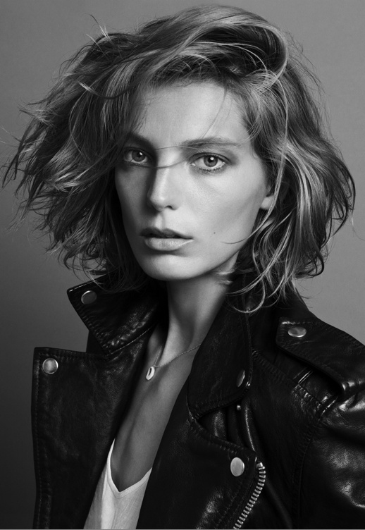 Daria Werbowy's New Do
